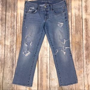 American Eagle Outfitters Artist Distressed denim